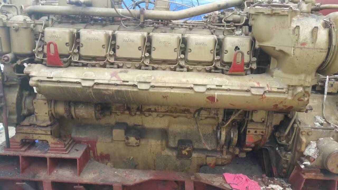 Used MTU engines and gearbox(stock 3 pcs) for sale 12V 396 TB93-4