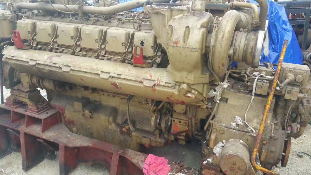 Used MTU engines and gearbox(stock 3 pcs) for sale 12V 396 TB93-3