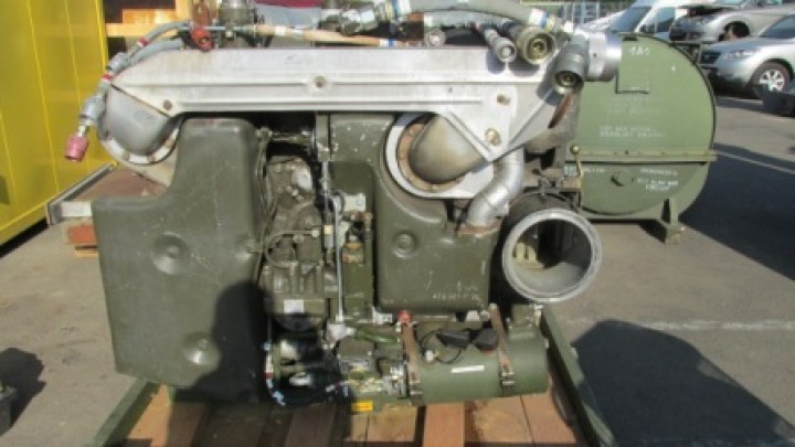 MTU 6V used diesel engine MB 833 600 HP