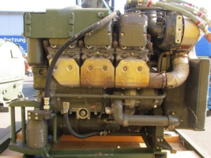 MTU 6V used diesel engine MB 833 EA-500 441 kW