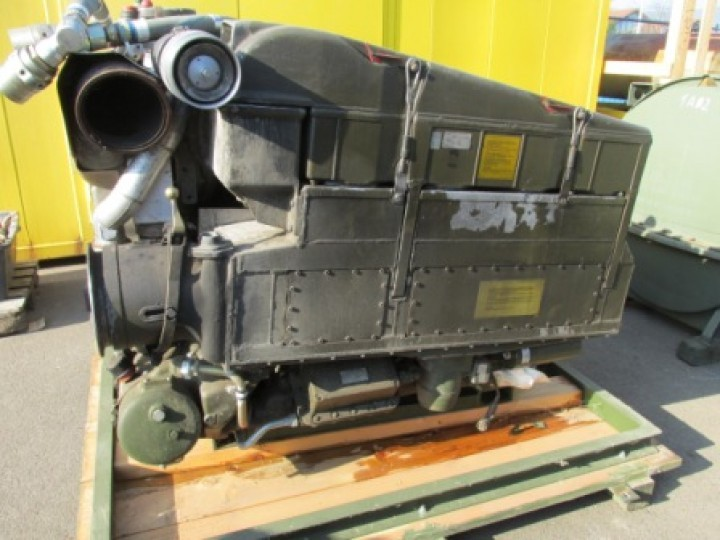MTU 6V used engine MB 833 EA-500 441 kW 600 HP