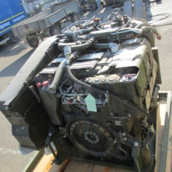 MTU 6V used diesel engine MB 833 441 kW 600 HP
